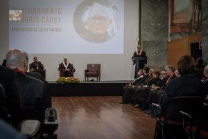 Sampaio da Nóvoa - Doutoramento Honoris Causa - Arquimedes da Silva Santos